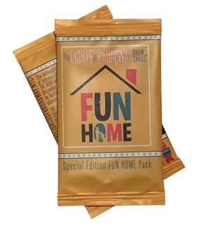 Fun Home - Lights of Broadway Show Cards