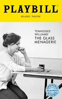 The Glass Menagerie Limited Edition Official Opening Night Playbill (2017 Revival)