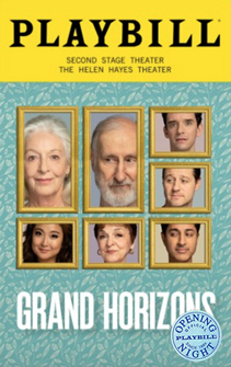 Grand Horizons Limited Edition Official Opening Night Playbill