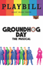 Groundhog Day - June 2017 Playbill with Rainbow Pride Logo