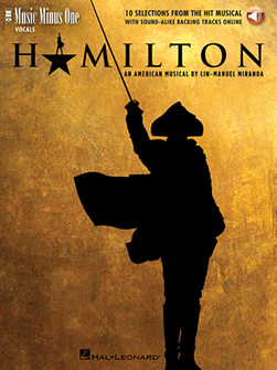HAMILTON - MUSIC MINUS ONE (BOOK/AUDIO)