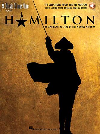 Hamilton Music Minus One Book Audio Broadway Books