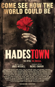 Hadestown the Broadway Musical Poster