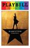 Hamilton - June 2016 Playbill with Rainbow Pride Logo