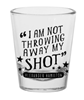 Hamilton the Broadway Musical Shot Glass
