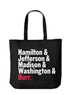 Hamilton the Broadway Musical Tote Bag