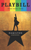 Hamilton - June 2017 Playbill with Rainbow Pride Logo