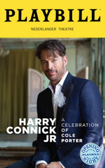 Harry Connick, Jr.—A Celebration of Cole Porter Limited Edition Official Opening Night Playbill