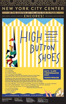 High Button Shoes Poster - 2019 Encores