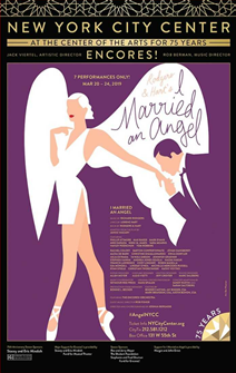I Married An Angel Poster - Encores