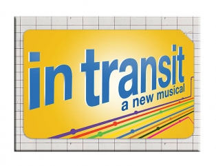 In Transit the Broadway Musical Logo Magnet