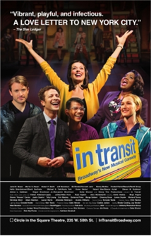 In Transit the Broadway Musical Poster