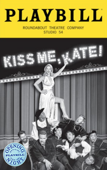Kiss Me, Kate Limited Edition Official Opening Night Playbill 2019 Revival