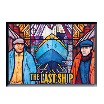 The Last Ship Tour Magnet