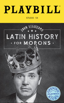 Latin History for Morons Limited Edition Official Opening Night Playbill