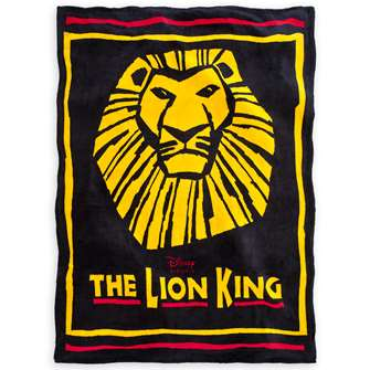 The Lion King the Broadway Musical - Show Logo Fleece Blanket