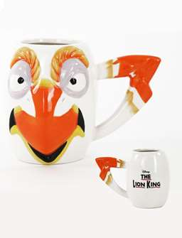 The Lion King the Broadway Musical Zazu Mug