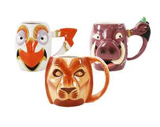 The Lion King the Broadway Musical Character Mug Set