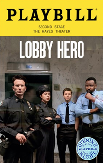 Lobby Hero Limited Edition Official Opening Night Playbill