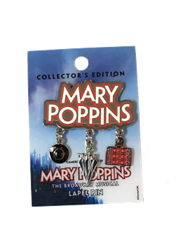 Mary Poppins the Broadway Musical Dangle Pin