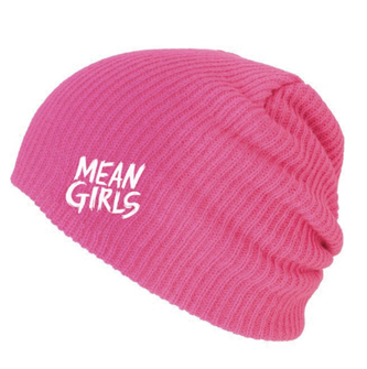 Mean Girls the Broadway Musical Pink Beanie