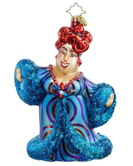 Broadway Legends Series Ornament: Harvey Fierstein Ornament