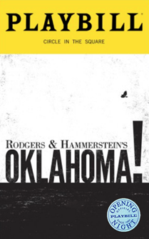 Oklahoma! Limited Edition Official Opening Night Playbill 2019 Revival