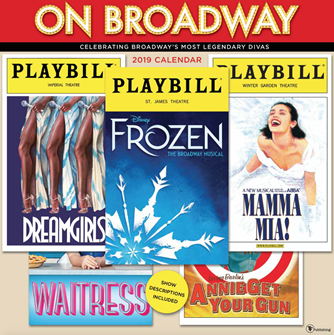 On Broadway: The 2019 Playbill Wall Calendar
