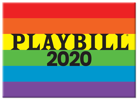 PLAYBILL PRIDE 2020 MAGNET