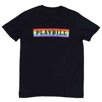 Playbill Pride 2019 Rainbow Brick T-Shirt