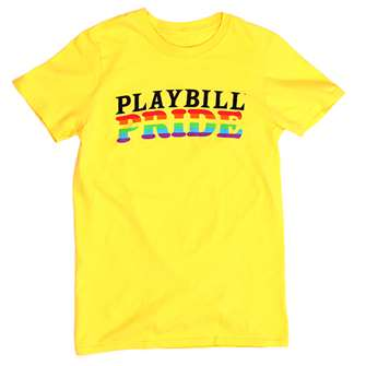 Playbill Pride 2019 Yellow T-Shirt