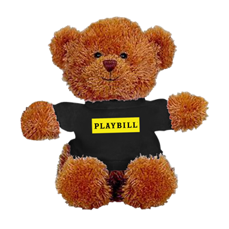 Playbill Plush Bear