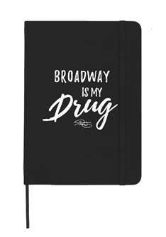 Tyler Mount Broadway Is My Drug Notebook