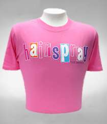 HAIRSPRAY THE MUSICAL PINK TEE