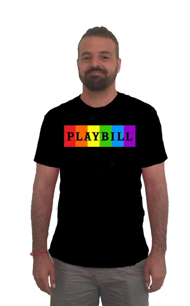 b9c8603c PLAYBILL PRIDE T-SHIRT - Playbill Pride | PlaybillStore.com