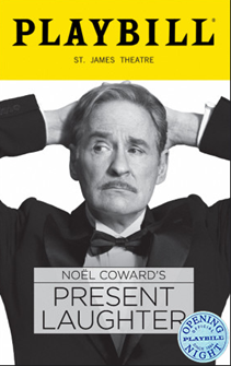 Present Laughter the Broadway Play Limited Edition Official Opening Night Playbill
