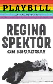 Regina Spektor on Broadway - June 2019 Playbill with Rainbow Pride Logo