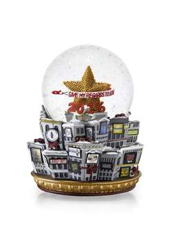 BROADWAY CARES 2016 SNOW GLOBE