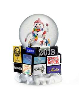 BROADWAY CARES 2018 SNOW GLOBE