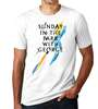Sunday In The Park With George the Broadway Musical (2017 Revival) White Logo T-shirt