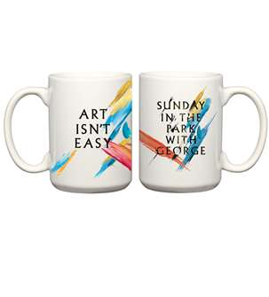 Sunday In The Park With George the Broadway Musical (2017 Revival) Mug