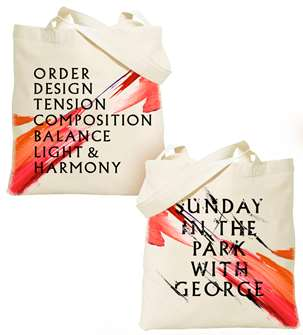 Sunday In The Park With George the Broadway Musical (2017 Revival) Tote Bag