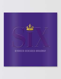 Six the Broadway Musical Souvenir Program
