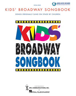 Kids Broadway Songbook (Book/Online Audio)