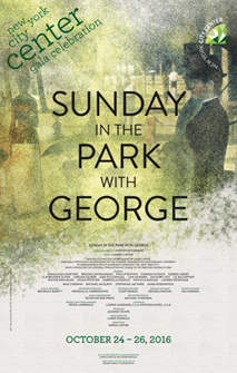 Sunday In The Park With George Poster