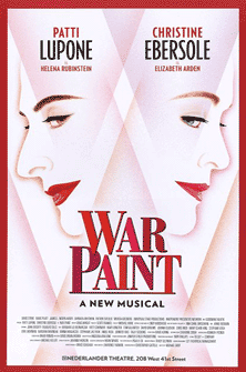 War Paint the Broadway Musical Poster