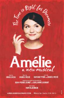 Amelie a New Musical Poster