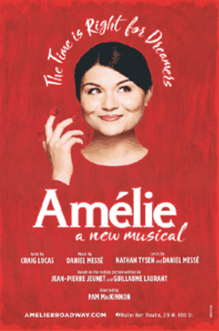 Amelie A New Musical Poster Posters Window Cards