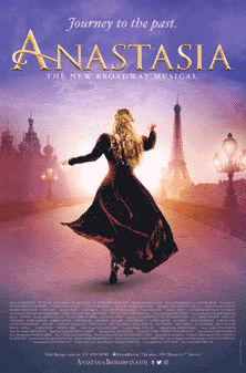 Anastasia the Broadway Musical Poster