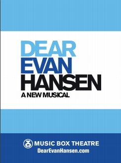 Dear Evan Hansen the Musical - 2017 Logo Magnet